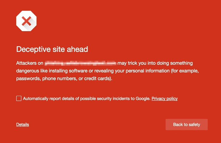 Chrome is really looking out for you now.