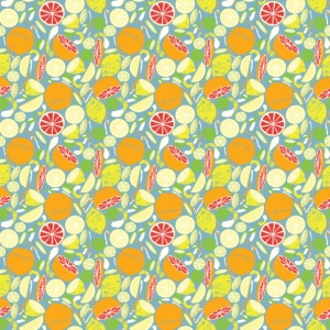 Citrus Repeating Pattern