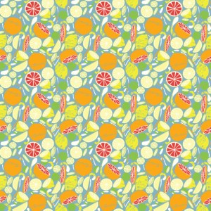 Citrus Repeating Pattern