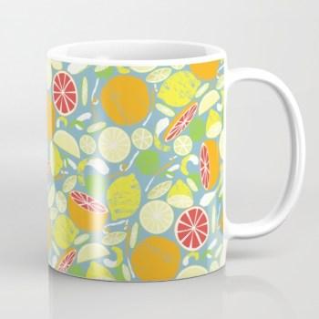 Tessa Cheung Society6 mug citrus