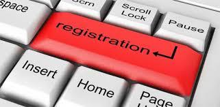 Registration enter key