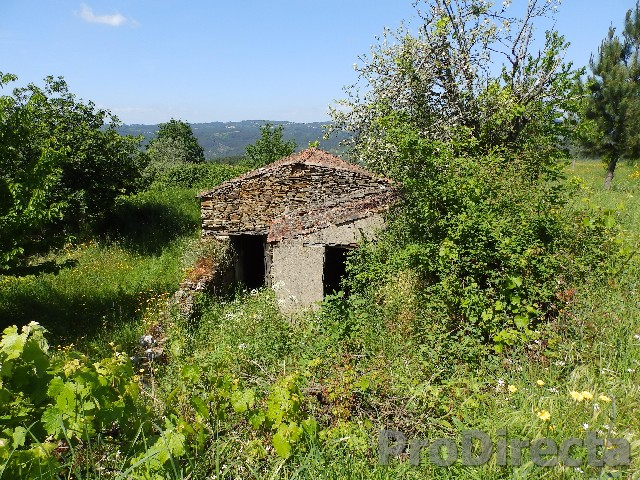 Old shed for reconstruction with land
