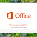 Microsoft Office 2013 Preview, écran de démarrage de l'installation