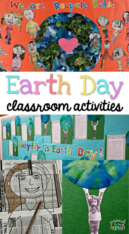 Classroom Ideas For Earth Day ~ Earth day classroom activities proud to be primary