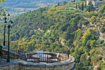 Terrace of the Bastide du Gordes