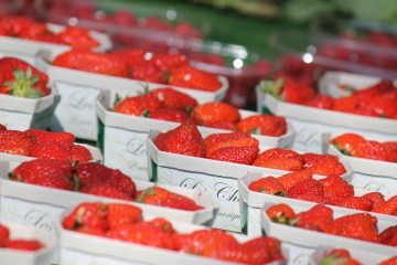 Strawberries Bonnieux Market