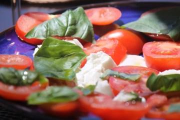 Summer salad chez Guru