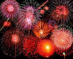 Rentree fireworks