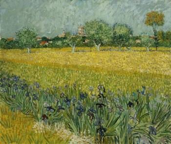 Vue d'Arles May 1888
