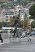 Statue of Freddie Mercury Montreux
