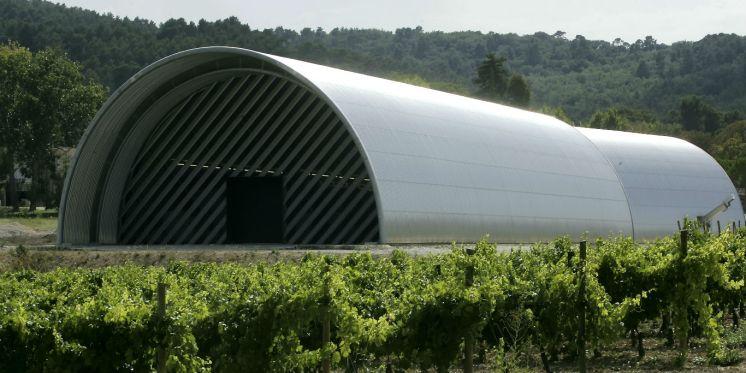Wine Cave at Chateau La Coste