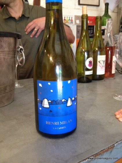 Provence wine tasting Henri Milan Saint Remy