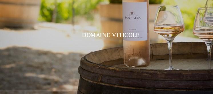 Font Alba vineyard