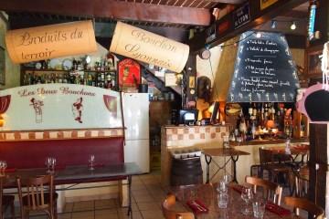 Les Deux Bouchons restaurant Calas
