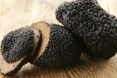 The natural dimples of a Provence truffle generate remarkable back spin