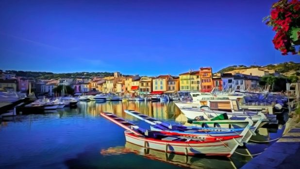 The port of Cassis