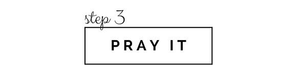 Pray It