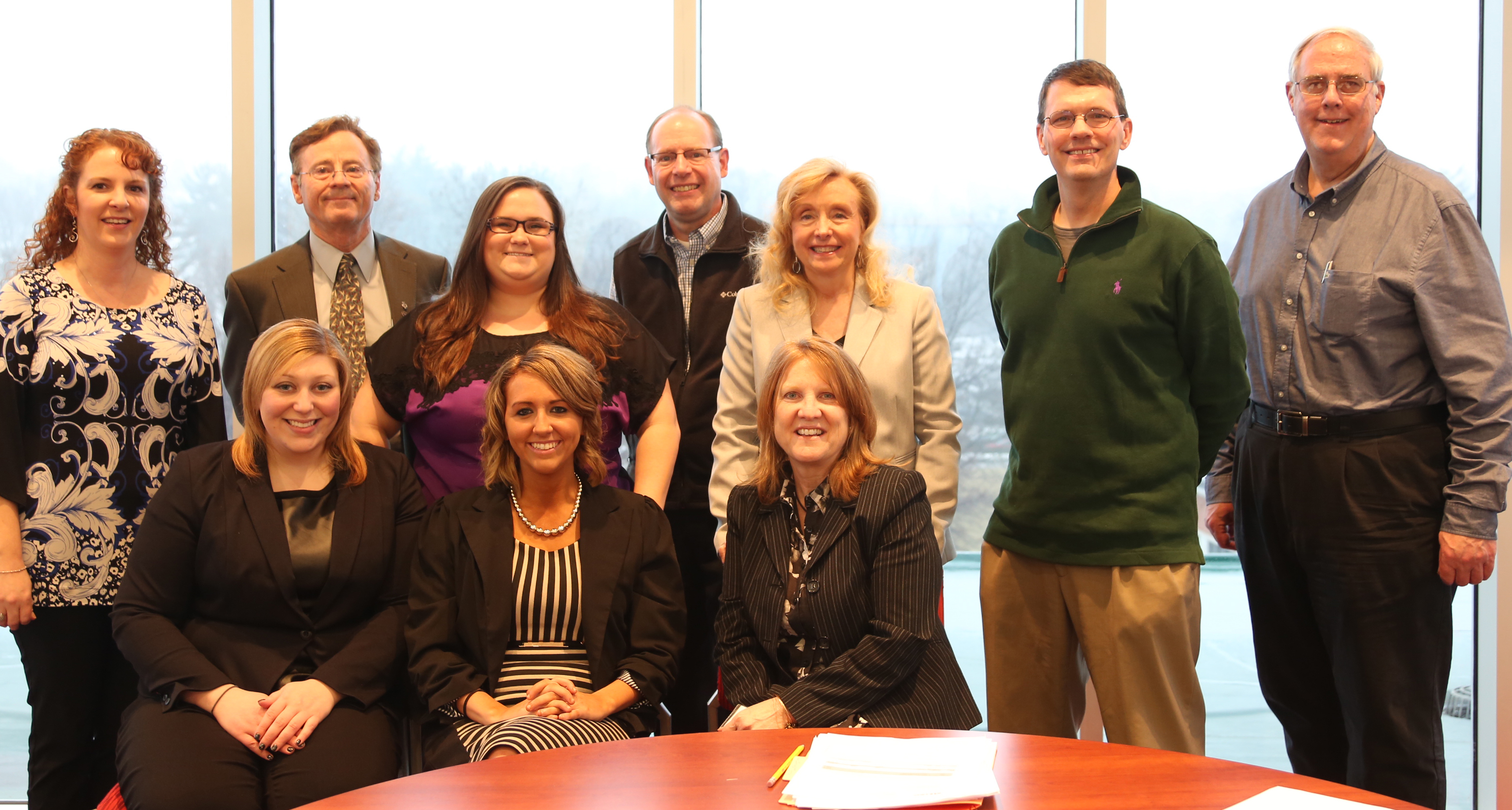 PRSA Central PA leaders with York College PRSSA leaders