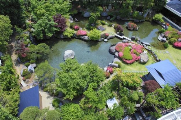 四季折々の自然が楽しめる「ホテル新光」自慢の日本庭園