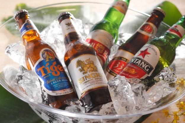 アジアのビール