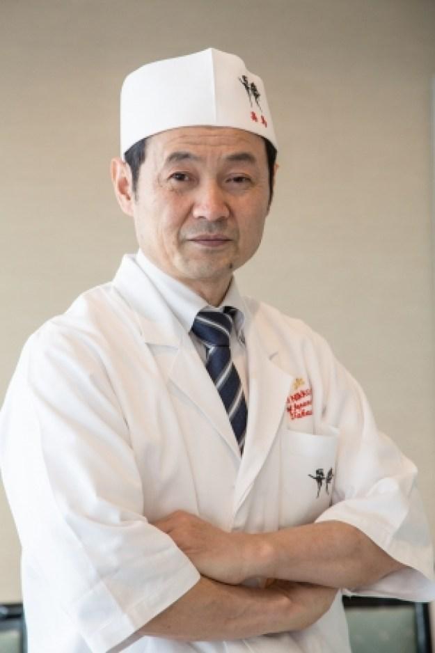 日本料理「弁慶」料理長 高島 稔