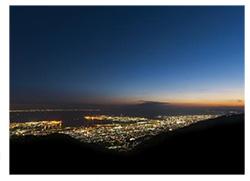 天覧台からの夜景