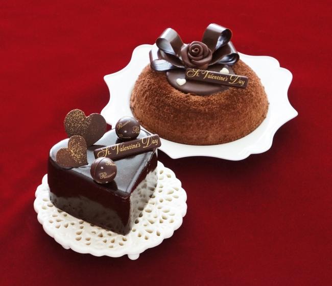 「赤い風船」佐世保店舗限定バレンタインケーキ