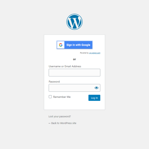 google-apps-login screenshot 2
