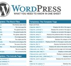 WordPress-CheatSheet-What-you-Need-to-Know