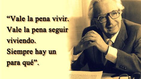 frase del libro de Viktor Frankl