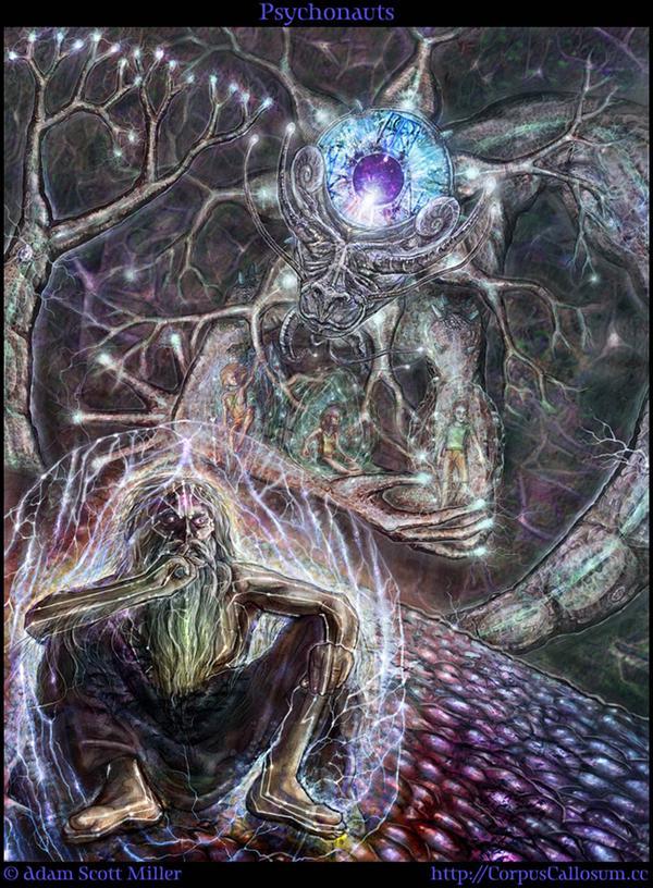 psychonauts by Adam Scott Miller