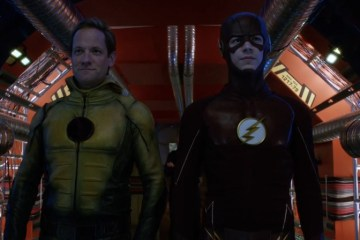 the flash return of the reverse flash header