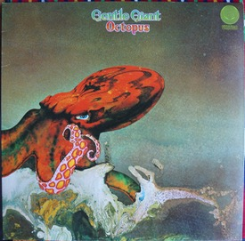 GENTLE GIANT OCTOPUS UK Swirl with inner, top copy £320 M-/M- VERTIGO 6360 080 LP