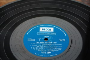 EX grade vinyl Kathy Kirby Grade our records