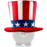 Tax Brackets Uncle Sam Piggy Bank