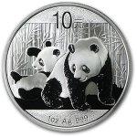 2010 Silver Chinese Pandas 1oz