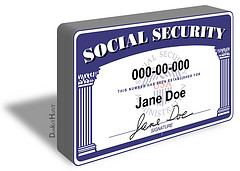 Personal Social Security Account