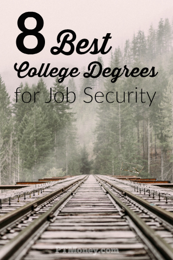 While there is no career field that is absolutely immune to recessions or changes in technology, some degrees confer more security than others. Here are eight degrees that promise job security throughout your career.