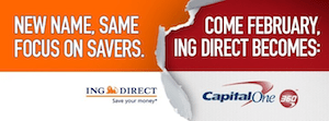 ING Direct Capital One 360