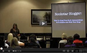 Rockstar Blogging Video