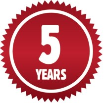Five Years Sign