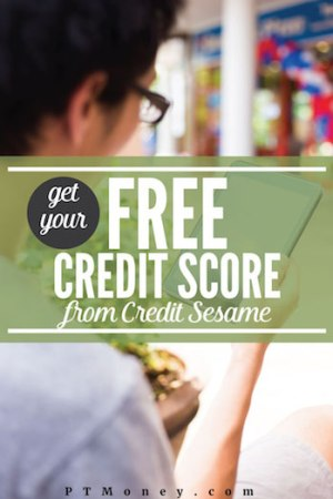 Free Credit Score from Credit Sesame