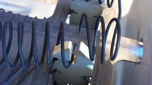 heating element broken coil