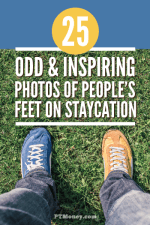 25 Odd and Inspiring Photos of People's Feet on Staycation