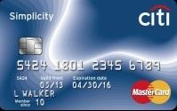 Citi Simplicity MasterCard