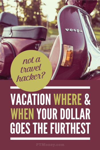 If you don't have a lot of extra cash for travel and you don't understand the travel hacking scene, check out this post. PT gives a few simple pointers to keep costs down on international travel. Now you can go to Asia like you always wanted!