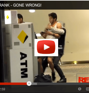 Fake ATM Robbery Gone Wrong, Plus Card and ATM Safety Tips