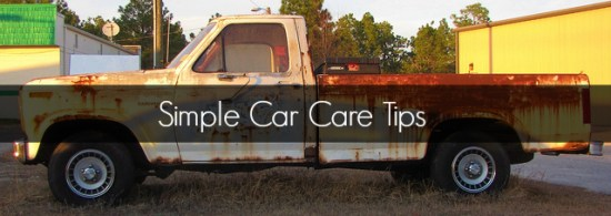 Simple Car Care Tips