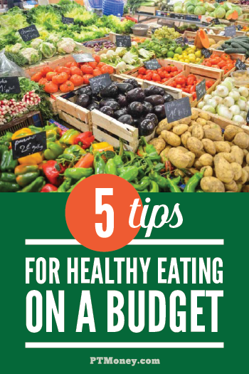 We all want our family to eat healthy, but it can seem so expensive! Check out these 5 tips that will help you eat well and not break the bank. It may be easier than you think to eat healthy on a budget!