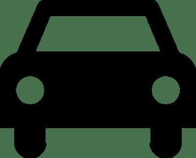 Sinal de carro | Vectores de Domínio Público